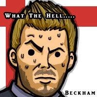 David Beckham Messenger Picture