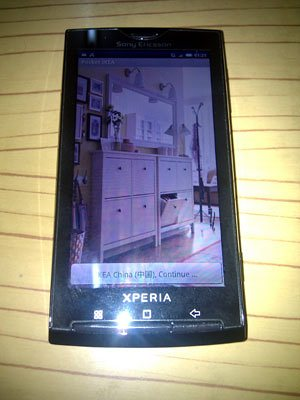 Pocket IKEA on SE X10